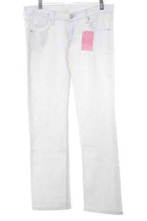 Mustang Jeans bootcut blanc cassé style décontracté