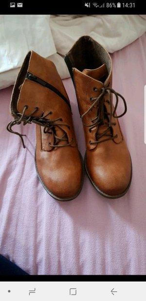 mustang boots reißverschluss neu