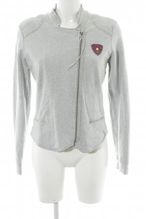 Mustang College Jacket light grey athletic style