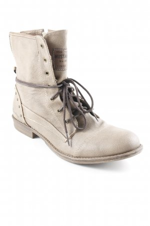 Mustang Chukka boot gris brun style décontracté