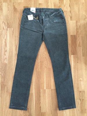 Mustang Gina Denim Jeans Skinny Slim Fit 30/30 grau