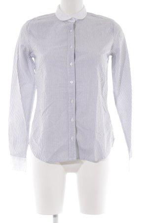 Mustang Hemd-Bluse schwarz-weiß Streifenmuster Business-Look