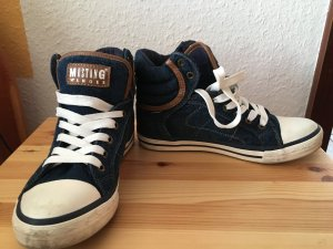 Mustang High Top Sneaker Jeans Gr. 37