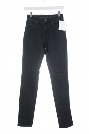 Mustang High Waist Jeans dunkelblau Washed-Optik