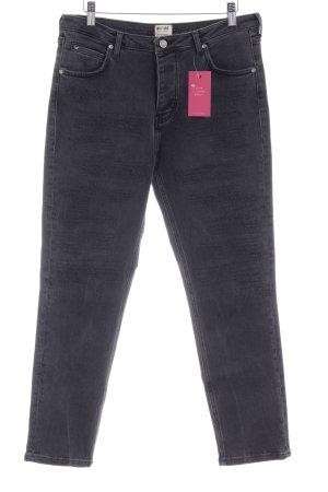 Mustang High Waist Jeans dunkelgrau Jeans-Optik
