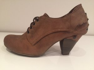 Mustang High-Front Pumps bronze-colored
