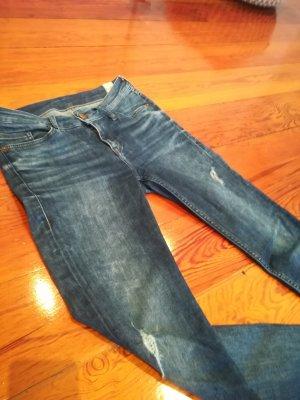 Mustang Slim jeans donkerblauw