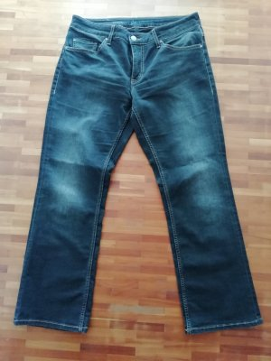 Mustang Boot Cut Jeans anthracite-black cotton