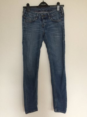 Mustang Low Rise jeans azuur-staalblauw