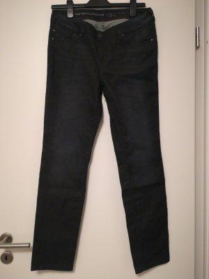 Mustang Slim jeans antraciet-donkerblauw