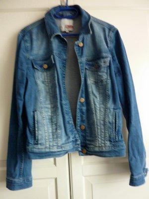 Mustang Jeansjacke in heller Waschung Jeansjacke Boyfriendjeansjacke Damenjacke M/L
