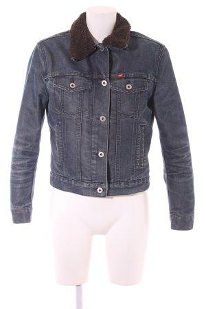Mustang Jeansjacke stahlblau-graublau Casual-Look