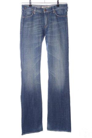 Mustang Jeansschlaghose blau Casual-Look