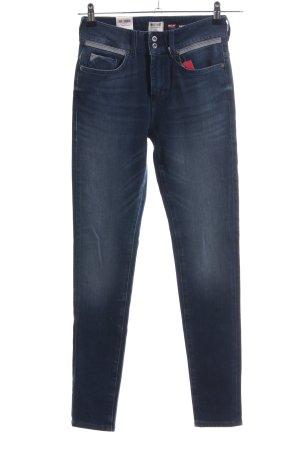 Mustang Jeggings graublau Jeans-Optik