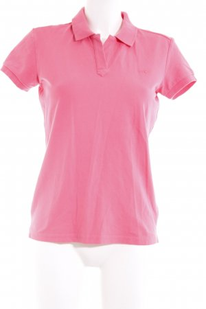 Mustang Polo rosa stile casual