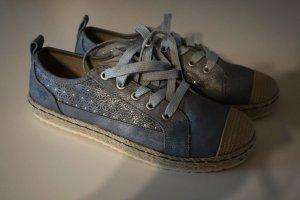 Mustang Schuhe grau,silber Gr.39 ungetragen