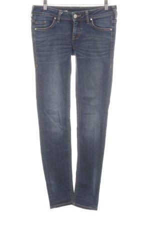 Mustang Skinny Jeans neonblau Jeans-Optik
