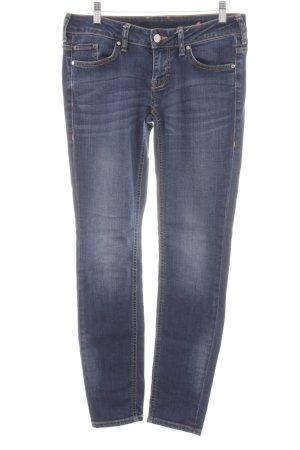Mustang Skinny Jeans blau Casual-Look