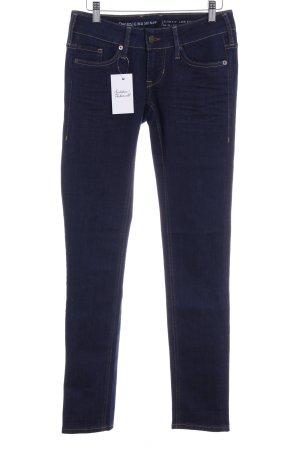 Mustang Skinny Jeans dunkelblau Casual-Look