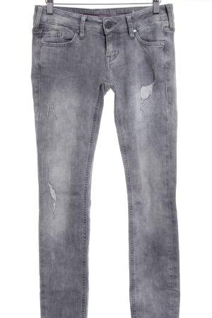 Mustang Skinny Jeans grau Casual-Look