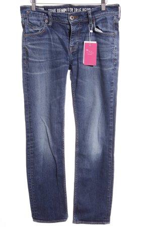 Mustang Skinny Jeans stahlblau Casual-Look