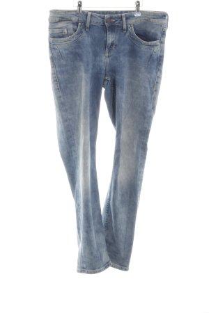 Mustang Slim Jeans blau Farbverlauf Casual-Look