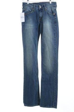 Mustang Slim Jeans blau Jeans-Optik
