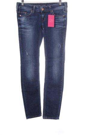 Mustang Slim Jeans dunkelblau Casual-Look