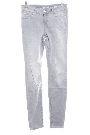 Mustang Slim Jeans hellgrau Washed-Optik