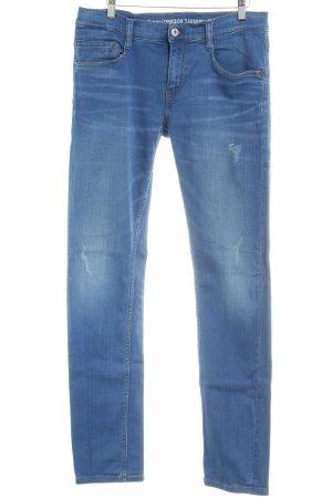 Mustang Slim Jeans stahlblau Casual-Look