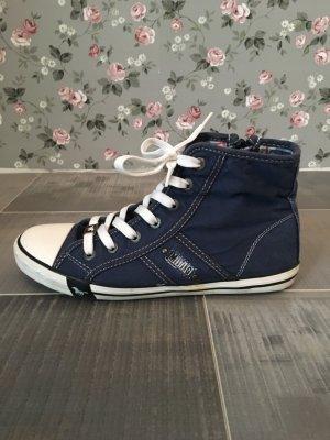Mustang Sneakers Jeans blau Gr. 37