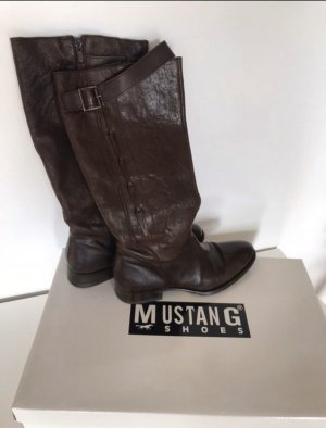Mustang Shoes Jackboots black brown