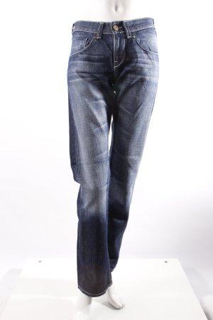 Mustang Straight Jeans blau