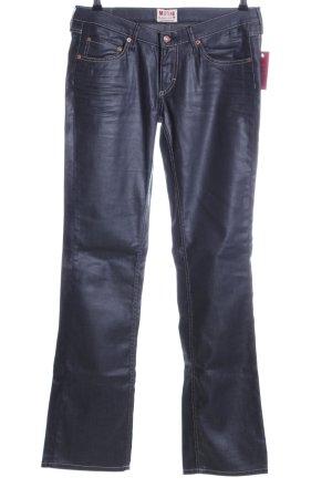 Mustang Straight-Leg Jeans schwarz Elegant