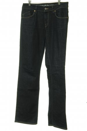 Mustang Straight-Leg Jeans dunkelblau Casual-Look