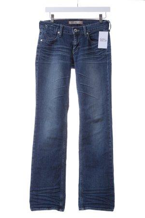 "Mustang Straight-Leg Jeans ""Girls' Oregon"" blau"