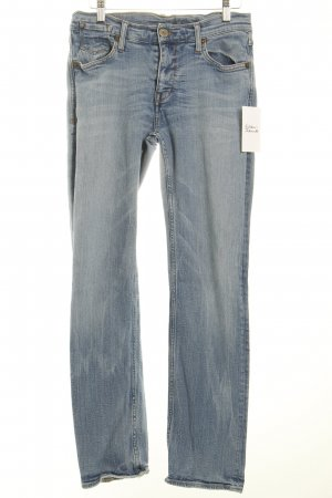 Mustang Straight-Leg Jeans hellblau Washed-Optik