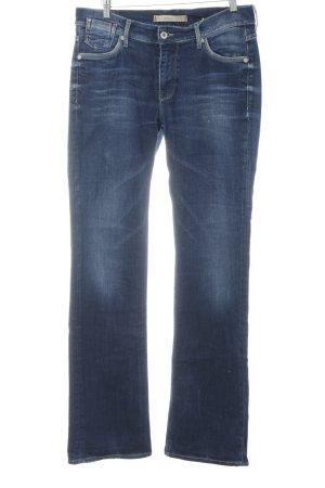 Mustang Straight-Leg Jeans stahlblau Casual-Look
