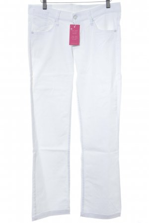 Mustang Straight-Leg Jeans weiß Casual-Look