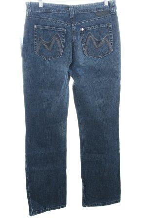 Mustang Stretch Jeans blau klassischer Stil