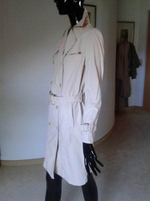 Mustang Trenchcoat in hübschem Farbton, festem Baumwollgewebe, neuwertig, Gr.S