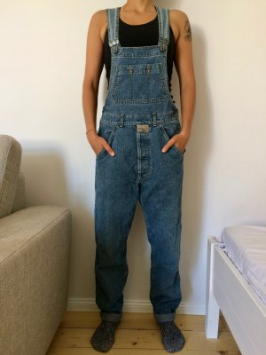 Mustang Vintage Denim Jeans-Latzhose/Overall, 90s, Gr. S/44