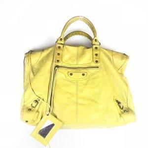 Mustard Balenciaga Shoulder Bag