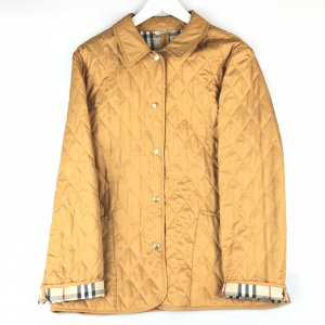Mustard Burberry Jacket