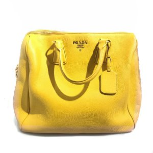 Mustard Prada Shoulder Bag