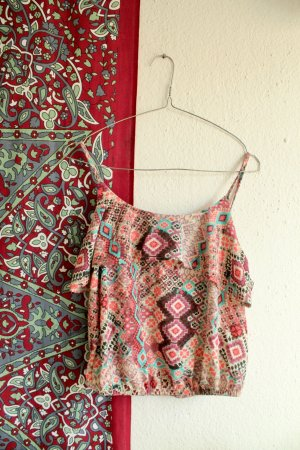 Muster Top / Azteken Top / BOHO / Crop Top / Sommer
