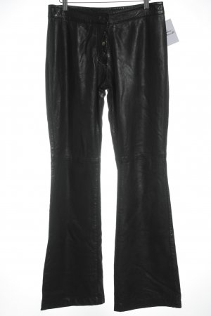 Muubaa Lederhose schwarz Country-Look