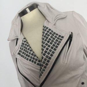 Muubaa Leather Jacket white