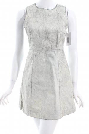 Muubaa Leather Dress white-black party style