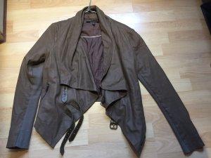 Muumbaa Leather Jacket, brown eu38